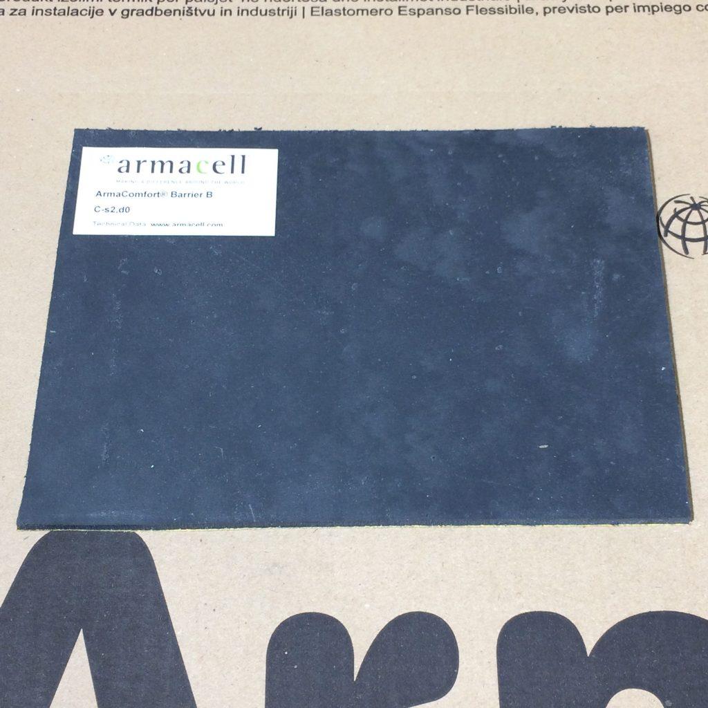 ArmaComfort® Barrier B - garso slopinimo izoliacija be bitumo ir halogenų