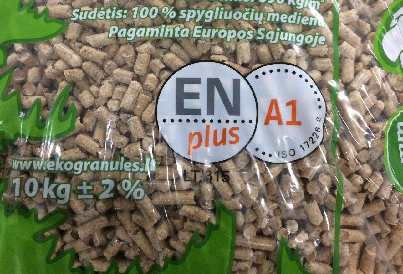 UAB AQUA CENTRUM EKOgranules ENplus LT315