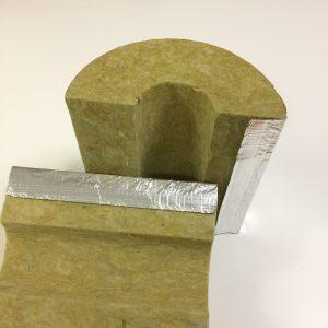 Steinbacher STEINWOOL® ALU mineralinės vatos kevalas su armuota aliuminio folijos danga