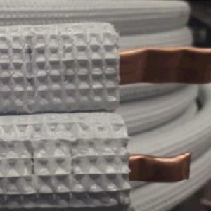TUBOLIT SPLIT variniai vamzdžiai su 9 mm storio izoliacija